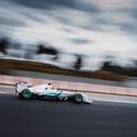 F1 Winter Testing 2013 - N. Rosberg