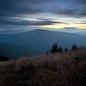 Svítání na Lysé hoře...