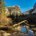 Zimne rano v Yosemite Valley