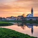 Uherský Ostroh a řeka Morava