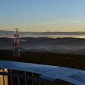Ráno na Kelčském Javorníku