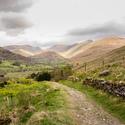 Jaro v Lake District 2, hrabství Lancashire, UK