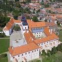 Třebíčská památka UNESCO z ptačí perspektivy