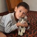 Uzbecký chlapec