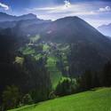 Pohled na vesničky Ornella, Pescota a Quellecase