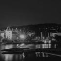 Praha z Jiráskova mostu