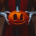 The demon of the halloween