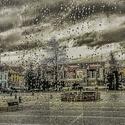 Jevíčko v dešti