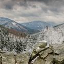 Výhled ze skal Mazáku