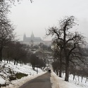 procházka k Pražskému hradu