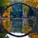 podzimní Kromlau