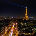 Večerní Paříž