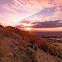 Východ slunce na Hradišti