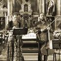 Petr Nouzovský, violoncello, Kristina Fialová, viola - koncert v klášteře