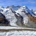 Ve švýcarských alpách.
