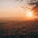 Východ slunce na Hrudkovem