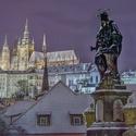 Když je v Praze sníh