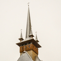 Zasněžený kostelík