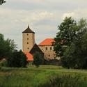 Vodní hrad Švihov.