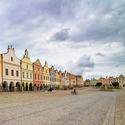 Krásné historické město Telč