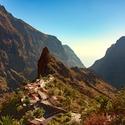 Masca,malá romantická vesnička v horách nad Atlantikem
