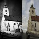 Dóm Sv.Martina pred a po uprava