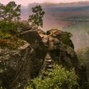 Pohled od Drábských světniček