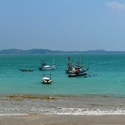 Ceylon - rybářské lodě