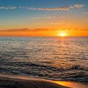 Zapad slunce nad Indickym oceanem