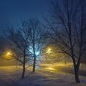 ...mlhavý podvečer