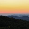 Slunce za horami