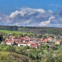 Výhled z hradu Týřov