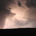 Bouřka na Šumavě