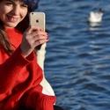Selfie u Vltavy
