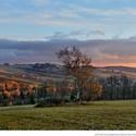 Svítání nad Jimramovským údolím