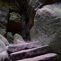 V Teplických skalách...