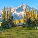 Indian Henry's Patrol Cabin - Mt. Ranier National Park, WA, USA