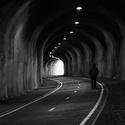 sám v tunelu v ČB