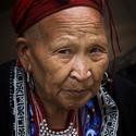 Žena z etnika Red dao