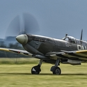 Supermarine Spitfire Mk. XVI TE184 - vzlet