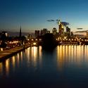 Večerní Frankfurt