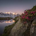 Ranní Mont Blanc