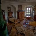 Ložnice na hradě Bouzov