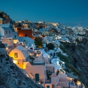 po západu slunce - Oía - Santorini . Řecko