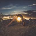 yoga and sunset...