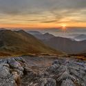 Svítání nad Tatrami