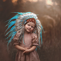Moje malá indiánka :-)