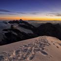 Hohe Tauern před východem