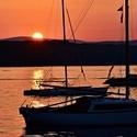 Západ slunce na Jadranu 2