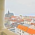 Rozhled z radniční věže